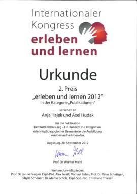 Internationaler Kongress erleben lernen, erleben lernen 2012, Faszination Erleben Karlsruhe